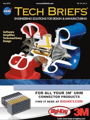 NASA Tech Briefs - May 2010 - Vol. 34 No. 5 - Tech Briefs