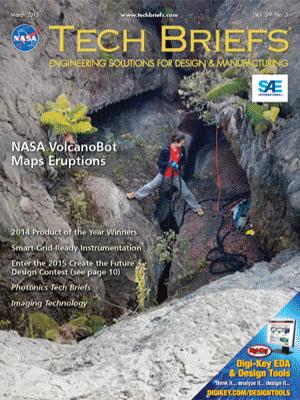 NASA Tech Briefs - March 2015 - Vol. 39 No. 3 - Tech Briefs
