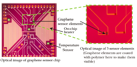 Graphene Supports Nasa-developed Nanosensors