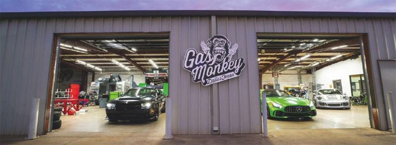 Lighting The Gas Monkey Garage Tech Briefs